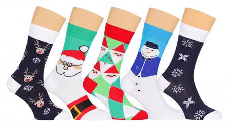 Носки на Новый Год