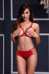 Baci Lingerie Bl3106-red