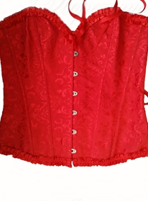 Mix Red Corset