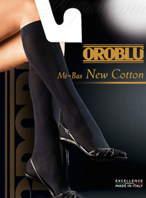 Oroblu New cotton mi bas